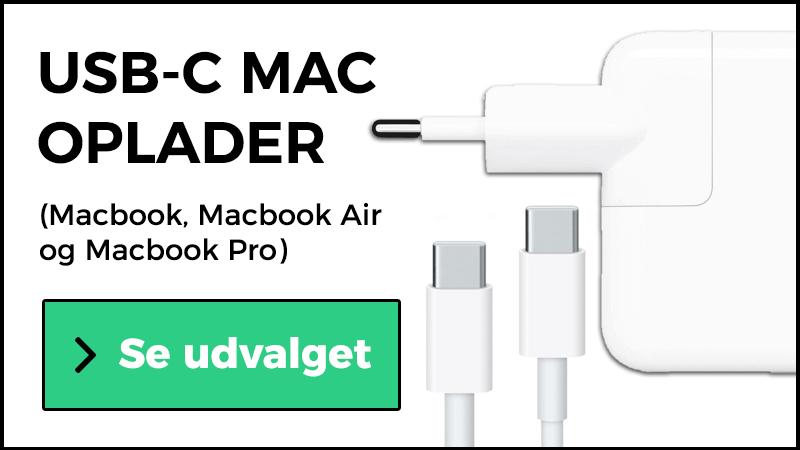 usb-c oplader mac
