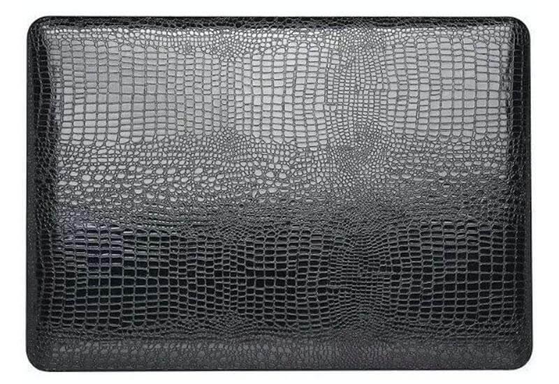 Macbook cover snake læder
