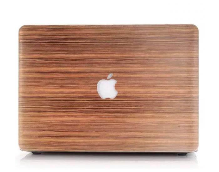 Macbook cover af træ