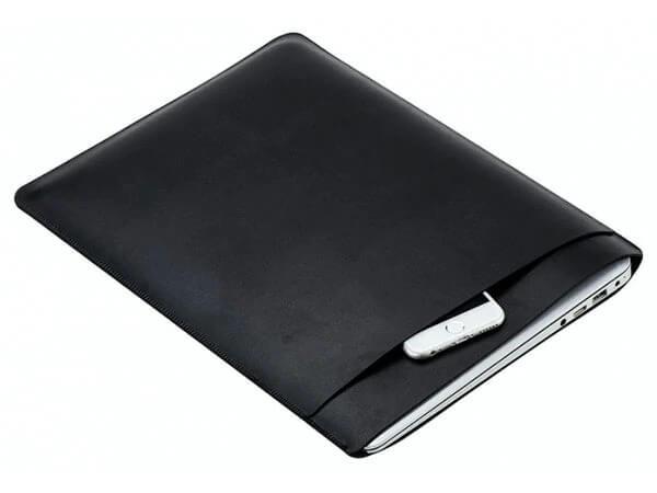 læder_sleeve_Sort_macbook